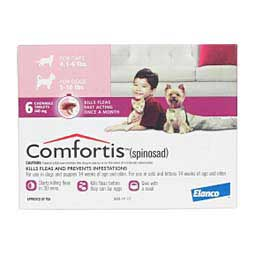 Comfortis Flea Treament Dogs & Cats Elanco Animal Health